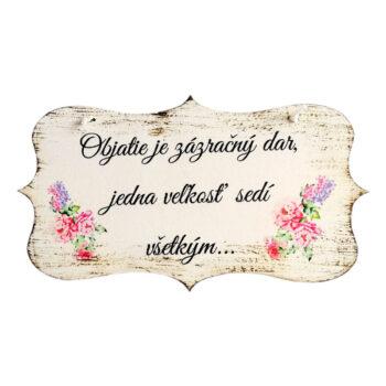 Tabuľka s mottom