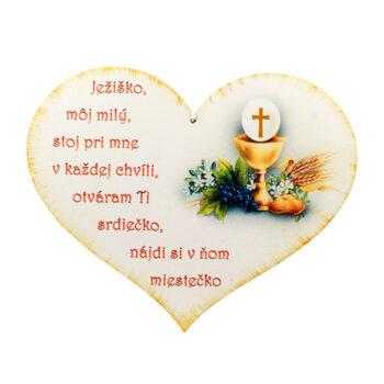 Drevené srdce Ježiško