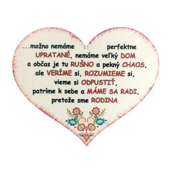 Srdce s mottom