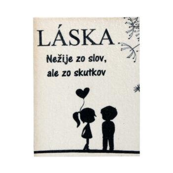 """Magnetka """"LÁSKA"""""""