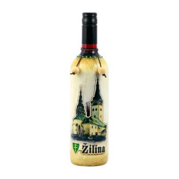 """Maľovaná fľaša """"Žilina"""""""