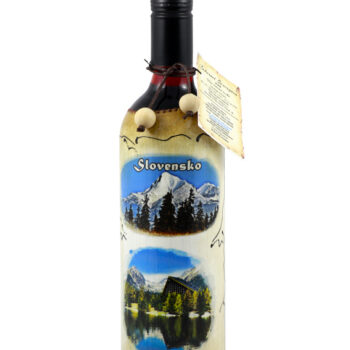 """Maľovaná fľaša """"Slovensko"""""""
