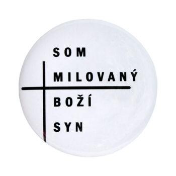 """Odznak """"Milovaný Boží syn"""""""
