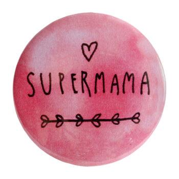 """Odznak ružový """"SUPERMAMA"""""""