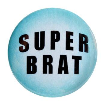 "Odznak modrý ""Super brat"""